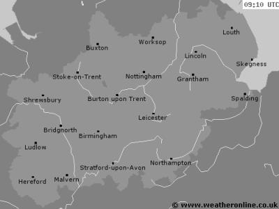 Stormtrack Mountsorrel Leicester weather Radar image not generated